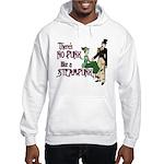 No Punk Like a Steampunk Hooded Sweatshirt
