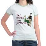 No Punk Like a Steampunk Jr. Ringer T-Shirt