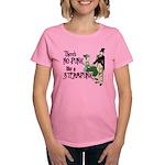 No Punk Like a Steampunk Women's Dark T-Shirt