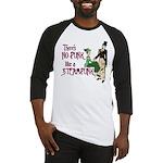 No Punk Like a Steampunk Baseball Jersey