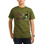No Punk Like a Steampunk Organic Men's T-Shirt (da
