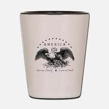 American Eagle Shot Glass