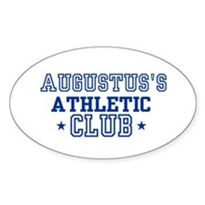 Augustus Oval Decal