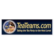 Tea Teams bumper sticker
