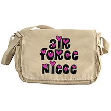 AF Pink Hearts Messenger Bag