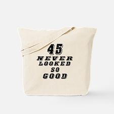 45 Birthday Designs Tote Bag