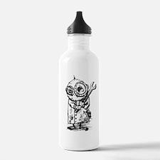 Gribble - the best little scientist Water Bottle