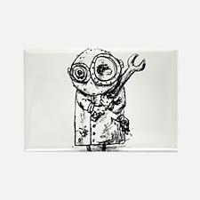 Gribble - the best little scientist Rectangle Magn