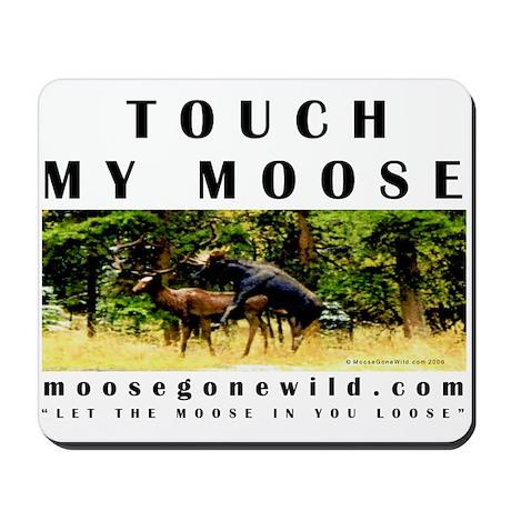 MooseGoneWild.com Mouse Pad