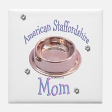 AmStaff Mom Tile Coaster