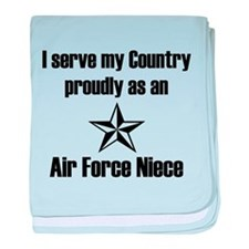 AF Niece Serve Proudly baby blanket