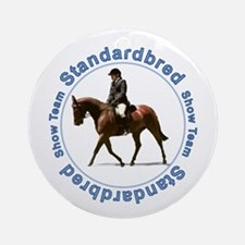 Standardbred Show Ornament (Round)