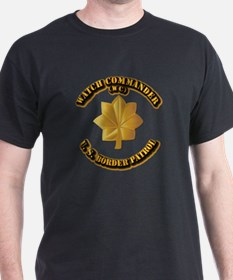 US Border Patrol - Watch CDR T-Shirt
