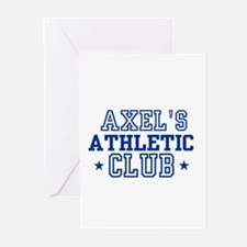 Axel Greeting Cards (Pk of 10)