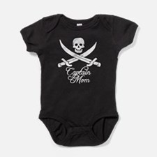 Captain Mom Baby Bodysuit