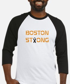 Boston Strong Black and Gold Baseball Jersey