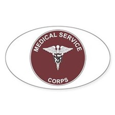MEDICAL-SERVICE-CORPS Rectangle Decal