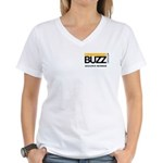 Buzz Alliance Member Ladies V-Neck T-Shirt