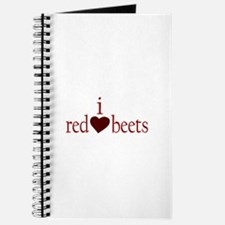 I Love Red Beets Journal