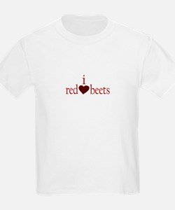 I Love Red Beets Kids T-Shirt