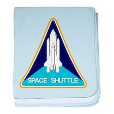 NASA Space Shuttle baby blanket