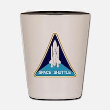 NASA Space Shuttle Shot Glass