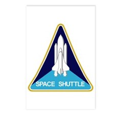NASA Space Shuttle Postcards (Package of 8)