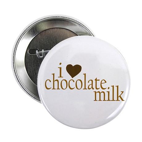 I Love Chocolate Milk Button