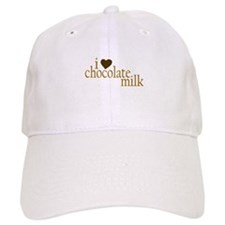 I Love Chocolate Milk Baseball Cap