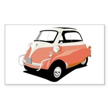 Isetta Rectangle Decal