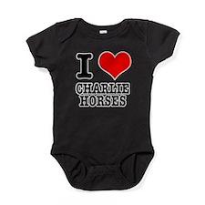 CHARLIE HORSES.png Baby Bodysuit