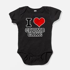 CRUMB CAKE.png Baby Bodysuit