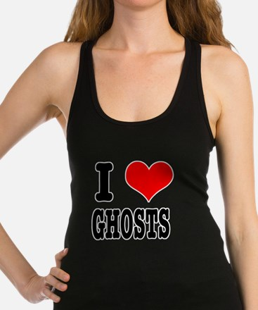 GHOSTS.png Racerback Tank Top