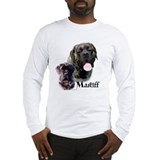 Brindle english mastiff Long Sleeve T Shirts