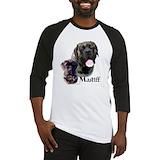 Brindle english mastiff Long Sleeve T Shirts