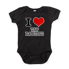 TAP DANCING.png Baby Bodysuit