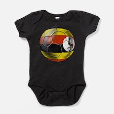 Uganda Football Baby Bodysuit