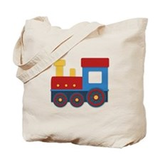 Colorful train Tote Bag