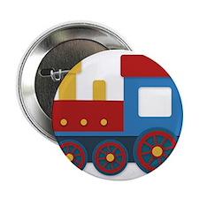 """Colorful train 2.25"""" Button"""