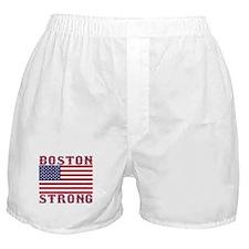 BOSTON STRONG U.S. Flag Boxer Shorts