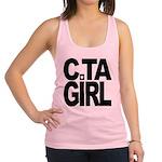 C.TA Girl Racerback Tank Top