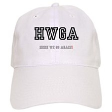 HWGA - HERE WE GO AGAIN! Baseball Cap