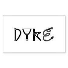 Toolbox Dyke Rectangle Decal