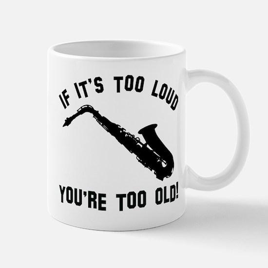 Alto Saxophone Vector designs Mug
