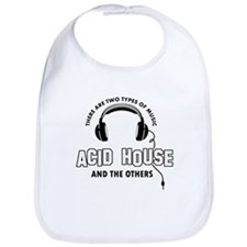 Acid house lover designs Bib