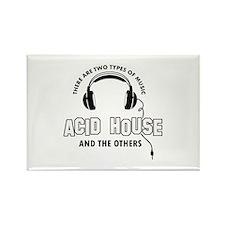 Acid house lover designs Rectangle Magnet