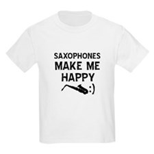 Alto Saxophone musical instrument designs T-Shirt