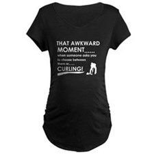 Curling sports designs T-Shirt