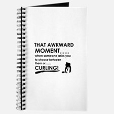Curling sports designs Journal