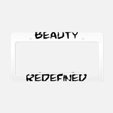 Lacrosse Beauty Redefined License Plate Holder